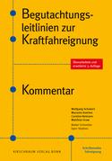 3. Auflage Begutachtungsleitlinien zur Kraftfahreignung. Kommentar