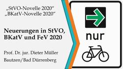 StVO-Novelle 2020