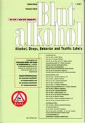 Fachartikel in: Blutalkohol Heft 1/2019, S. 1-20