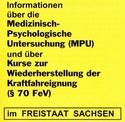 Gelbes Info Sachsen Neuauflage