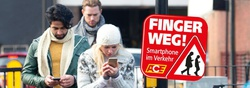 "ACE-Aktion ""Finger weg – Smartphone im Verkehr"""